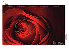 Red Rose Close Carry-all Pouch