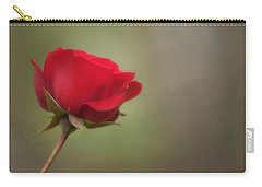 Red Rose Carry-all Pouch by Jacqui Boonstra