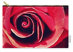 Red Rose Carry-all Pouch by Joseph Skompski