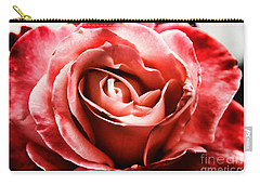 Red Rose  Carry-all Pouch by Mariola Bitner