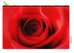 Red Rose Carry-all Pouch by Nina Ficur Feenan