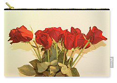 Red Rose Portrait Carry-all Pouch