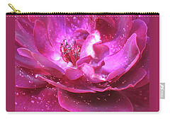Red Rose Rain Dance - 2nd In A Series Of 6 Carry-all Pouch