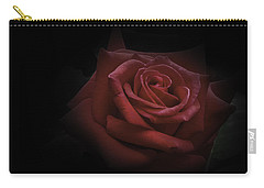 Carry-all Pouch featuring the photograph Red Rose by Ryan Photography