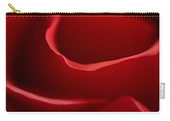 Red Roses V Carry-all Pouch
