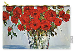 Red Roses Memories Carry-all Pouch