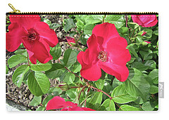 Carry-all Pouch featuring the photograph Red Roses by Stephanie Moore