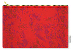 Carry-all Pouch featuring the photograph Red Rules by Nareeta Martin