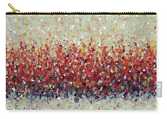 Red Run Carry-all Pouch by Lynne Taetzsch