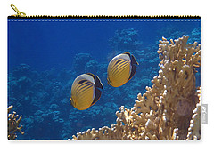 Red Sea Exquisite Butterflyfish  Carry-all Pouch