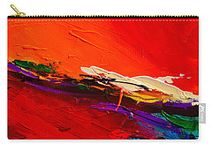Red Sensations Carry-all Pouch by Elise Palmigiani