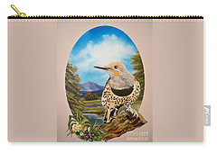 Flying Lamb Productions                       Red Shafted Flicker Carry-all Pouch