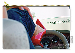 Red Shoe Driving Carry-all Pouch by Bob Pardue