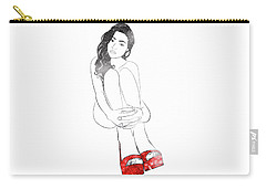 Red Shoes Carry-all Pouch