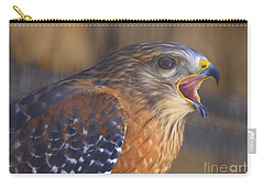 Red Shoulder Hawk Carry-all Pouch