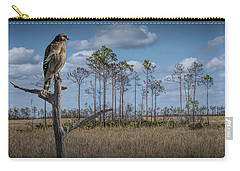 Red Shouldered Hawk In The Florida Everglades Carry-all Pouch