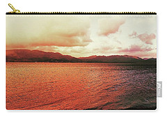 Carry-all Pouch featuring the photograph Red Sky After Storms  by Chriss Pagani