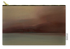 Carry-all Pouch featuring the painting Red Sky by Michelle Abrams