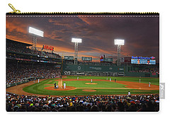 Red Sky Over Fenway Park Carry-all Pouch