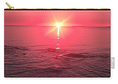 Red Sky Sunset Carry-all Pouch