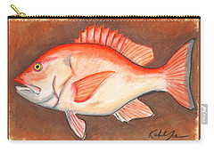 Red Snapper Carry-all Pouch
