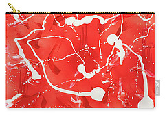 Red Spill Carry-all Pouch