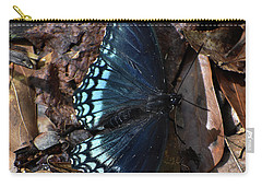 Carry-all Pouch featuring the photograph Red Spotted Purple Admiral by Skip Willits