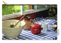 Red Sugar Bowl Carry-all Pouch by Susan Savad