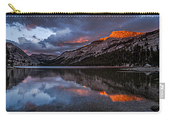 Red Sunset At Tenaya Carry-all Pouch