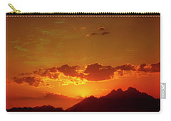 Red Sunset In Africa 2 Carry-all Pouch