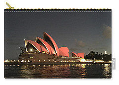 Red Sydney Opera House Carry-all Pouch
