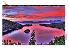 Red Tahoe Carry-all Pouch by Scott Mahon