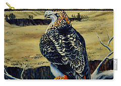 Red Tail Hawk Of Montana Carry-all Pouch