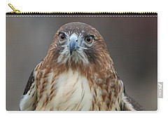 Carry-all Pouch featuring the photograph Red Tailed Hawk by Richard Bryce and Family