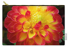 Red Tipped Petals Carry-all Pouch