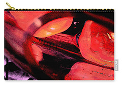 Carry-all Pouch featuring the photograph Red Tomatoe Two by Richard Ricci