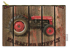 Red Tractor Farming Supply Carry-all Pouch