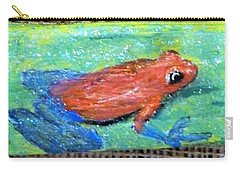Red Tree Frog Carry-all Pouch