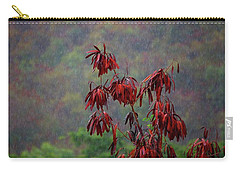 Red Tree In The Rain Carry-all Pouch