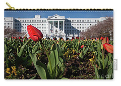 Red Tulip At The Greenbrier Carry-all Pouch