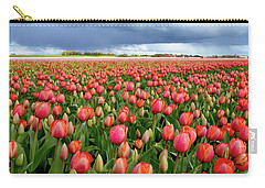 Red Tulip Field Carry-all Pouch
