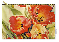 Red Tulips In My Garden Carry-all Pouch
