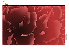 Red Velvet Peony Carry-all Pouch
