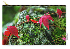 Carry-all Pouch featuring the photograph Red Vine by Bill Pevlor