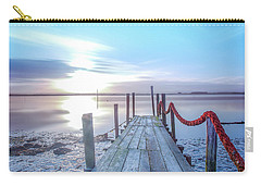 Carry-all Pouch featuring the photograph Red Vs Blue by Bruno Rosa