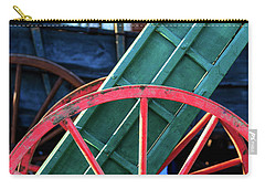 Red Wagon Wheel Carry-all Pouch