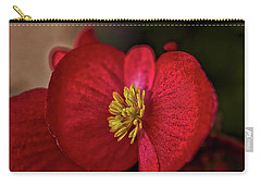 Red Wax Begonia Carry-all Pouch