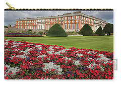 Red White And Blue At Hampton Court Carry-all Pouch