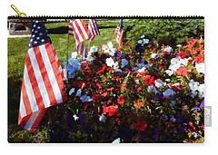 Red White And Blue - Memorial Garden Stroudsburg Pa Carry-all Pouch