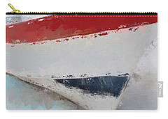 Carry-all Pouch featuring the digital art Red White And Blue Starboard  by Anthony Fishburne